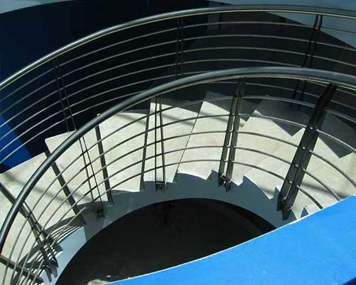 Custom steel balustrades in Perth