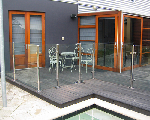 stainless swimming Pools fences